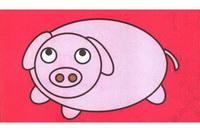 小猪简笔画怎么画