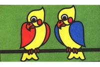 鹦鹉简笔画怎么画