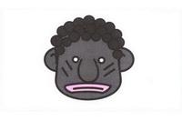 非洲人简笔画怎么画