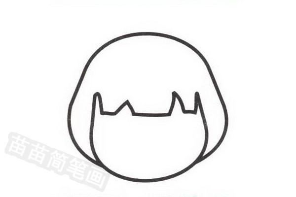 日本人简笔画怎么画