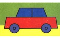 小轿车简笔画怎么画