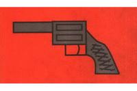 左轮枪简笔画怎么画