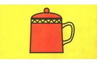 茶杯简笔画怎么画