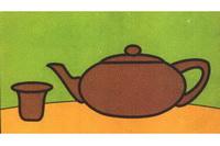 茶壶简笔画步骤分解彩色教程