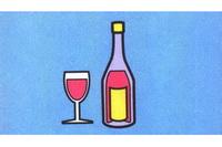 酒瓶简笔画怎么画