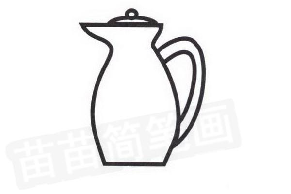 咖啡壶简笔画怎么画