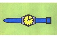 手表简笔画步骤分解彩色教程
