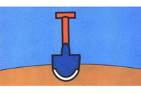 铁铲简笔画怎么画