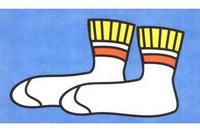 袜子简笔画怎么画