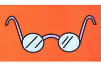 眼镜简笔画怎么画