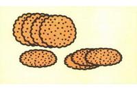 饼干简笔画怎么画