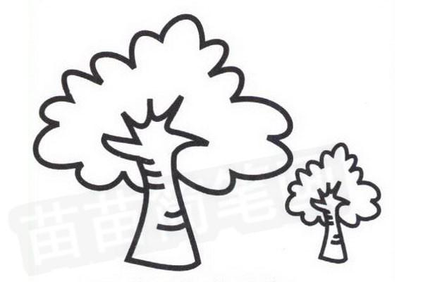 大树简笔画怎么画