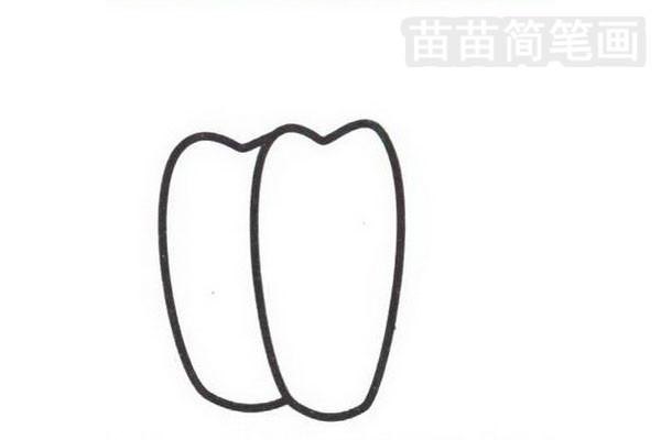 辣椒简笔画怎么画