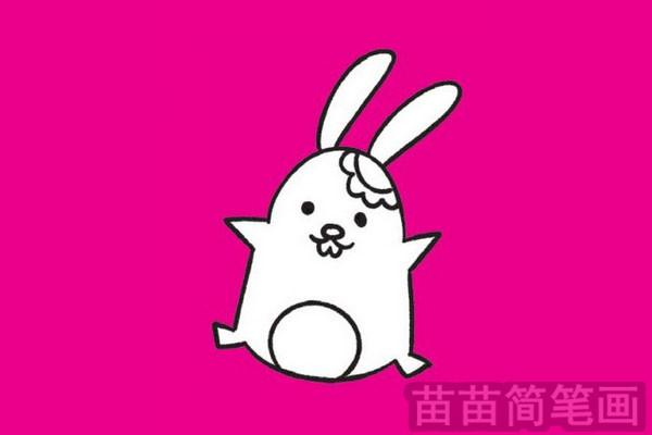 兔子简笔画图片大全 教程