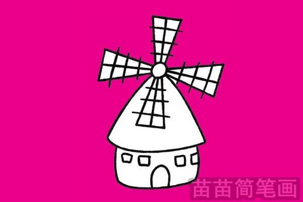 简笔画 风景简笔画 建筑物简笔画 >> 正文内容   风车小知识:风车的风