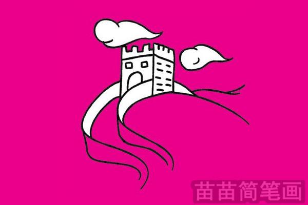 中国古代建筑简笔画图片大全作品五 中国古代建筑小知识:中国古代建筑布局,是以儒家上下之礼和男女之礼为基本构思,所谓前朝后寝,前堂后室等,中国古代建筑的发展大致经历了原始社会、商周、秦汉、三国两晋南北朝、隋唐五代、宋辽金元、明清7个时期,中国古代建筑的类型很多,主要有宫殿、坛庙、寺观、佛塔、民居和园林建筑等。中国古代建筑,就单座房屋而言,形体变化并不太丰富,主要靠庭院空间的衬托取得所欲达到的效果,中国古代建筑,在形态上的显著特征是大屋顶,中国古代建筑不仅是我国现代建筑设计的借鉴,而且早已产生了世界性