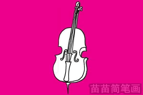 乐器简笔画图片大全 教程