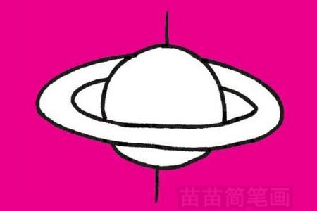 行星简笔画图片大全 教程