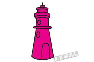 中国古代建筑简笔画图片大全,教程
