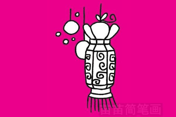 春节简笔画图片大全作品四