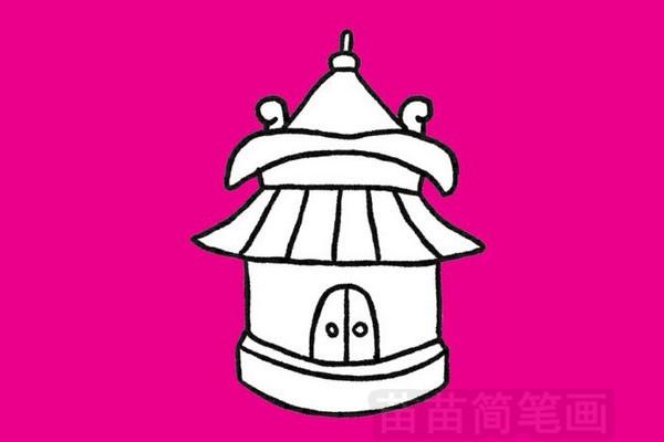 简笔画 风景简笔画 建筑物简笔画 >> 正文内容   中国古代建筑小知识