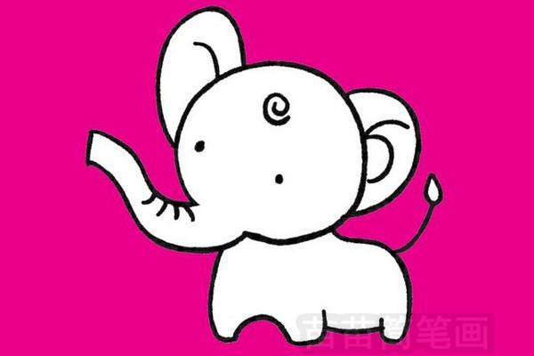 简笔画 动物简笔画 野生动物简笔画 >> 正文内容   画大象简笔画的
