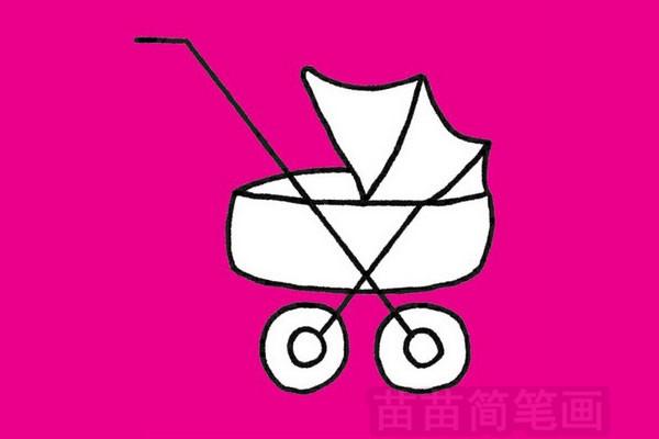 婴儿车简笔画图片大全作品四