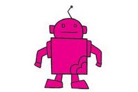 机器人简笔画图片大全、教程