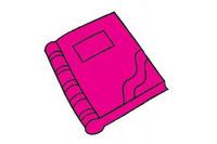 书籍简笔画图片大全、教程