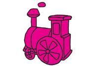 火车简笔画图片大全、教程