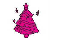 圣诞节简笔画图片大全、教程