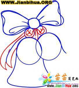 好看的蝴蝶结简笔画
