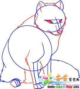 九尾白狐简笔画_九尾白狐图片_九尾白狐古装
