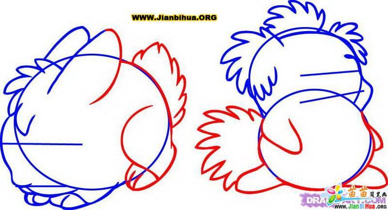 如何画兔子简笔画教程5张 第3张