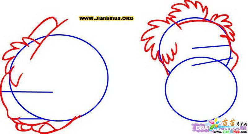 如何画兔子简笔画教程5张