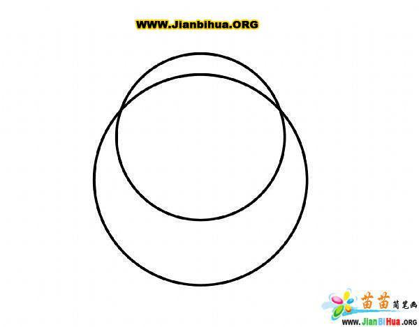 如何画卡通大象简笔画图片教程