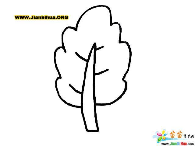 如何画卡通树简笔画图片教程 第7张