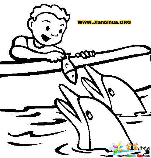 如何画海豚简笔画图片教程8张 第10张