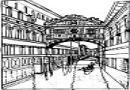 世界著名建筑简笔画图片作品欣赏