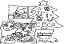 圣诞树简笔画图片(5张)