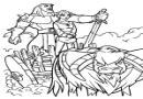 迪斯尼之神剑简笔画30张