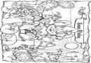 儿童游乐场设施涂色卡图片7张