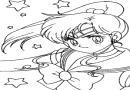 36张美少女简笔画系列1