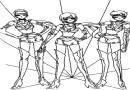 卡通简笔画人物图片――美少女战士35张