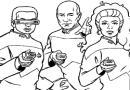 星际迷航简笔画图片29张