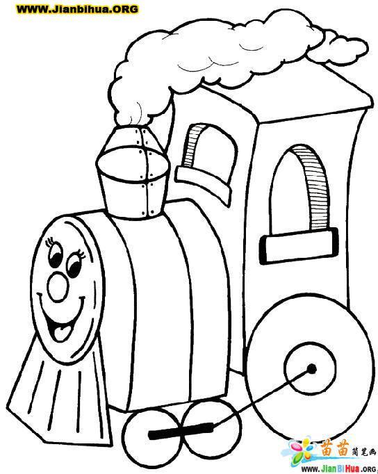 火车简笔画大全12张图片