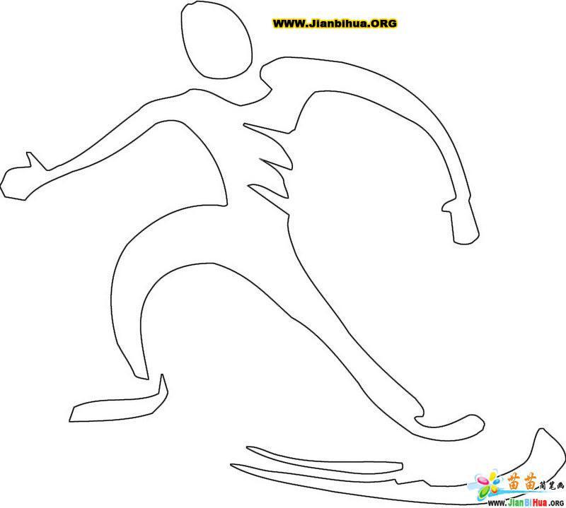卡通舞蹈简笔画图片 5张 第3张