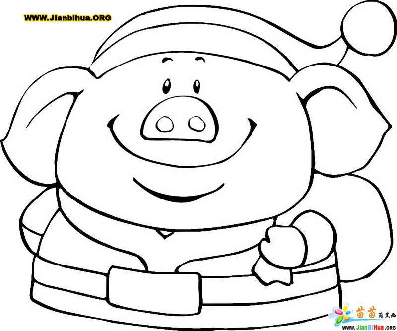 人物简笔画(喜庆子篇6张); 熊出没简笔画人物; 简笔画卡通人物头像
