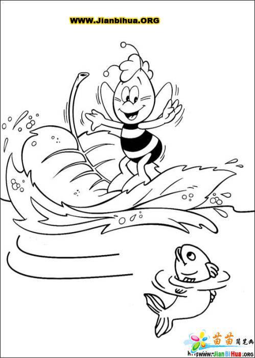 卡通人物简笔画作品(22张)