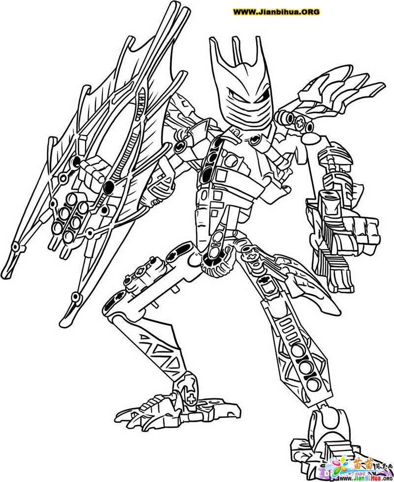 生化战士简笔画图片